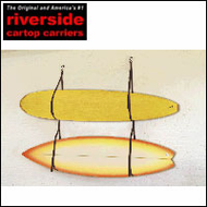 Wall Surfboard Hangers -  2013 Riverside Surfboard Storage Hanger for 2 Surfboards