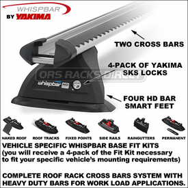 Whispbar HD Bar Roof Rack Now Available