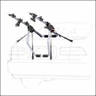 Yakima Car Trunk Racks - Yakima Mo' Joe Rear Car Trunk Mounted Bike Racks