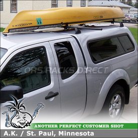 Yakima Control Towers Roof Rack Crossbars and Landing Pads 6 for 2011 Nissan Frontier Truck Shell