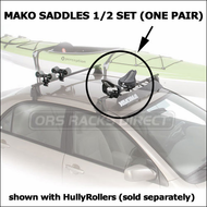 Yakima Kayak Carriers - Yakima Mako Saddles for Car Roof Racks (4019)