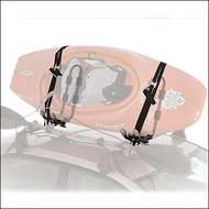 Yakima Kayak Rack Systems - Yakima Hull Raiser Kayak Racks for Car Roofs (4029)