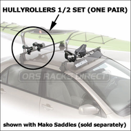Yakima Kayak Rack Systems - Yakima HullyRollers for Car Roof Racks (4028)