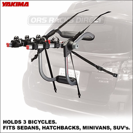 Yakima KingJoe Pro 2 and Yakima KingJoe Pro 3 Trunk Mount Bike Racks