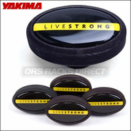 Yakima LiveStrong End Caps for Yakima Roof Rack Round Bars - 8005013
