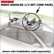 Yakima Mako Saddles Kayak Rack RHR<br> RED HOT RETURN