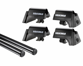 Yakima RailGrab Jeep Wrangler Roll Bar Roof Rack Kit