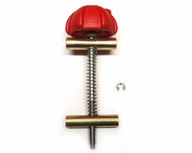 Yakima Red Locking Raptor Knob