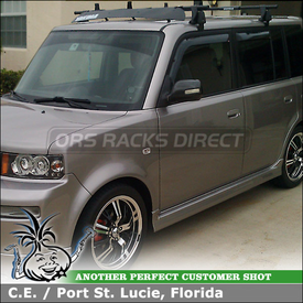 Yakima Roof Rack with Load Stops and Fairing for 2005 Scion xB