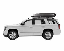Yakima ShowCase 15 Ski Cargo Box – 15 Cubic Foot