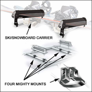 Yakima Ski Racks & Snowboard Racks - Yakima Lift Ticket 6 / Mighty Mounts for up to 6 pairs of skis or 4 snowboards