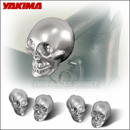Yakima Skull End Caps for Yakima Roof Rack Round Bars - 8005014