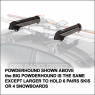 Yakima Snowboard Racks & Ski Racks - Yakima Big PowderHound SE for up to 6 pairs of skis or 4 snowboards (3059)