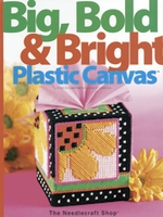 Big, Bold and Bright Plastic Canvas Pattern - Hard Cover