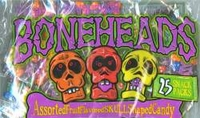 Boneheads  Skull Shaped Halloween  Candy