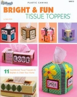 Bright & Fun Plastic Canvas Tissue Toppers