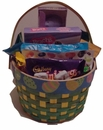 Candy Filled Easter Gift Basket