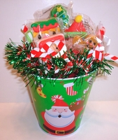Christmas Lollipop Bouquet - Christmas Gift Basket