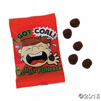 Coal Gummy Candy