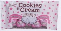 Cookies and Creme Hearts