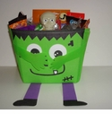 Halloween Candy Gift Basket - Deluxe