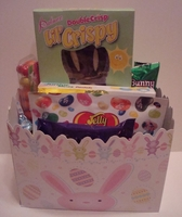 Candy Filled Easter Basket  Bunny  Box