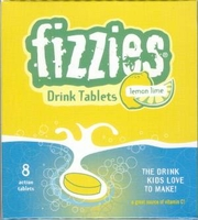 Fizzies Lemon Lime