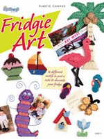 Fridgie Art Magnets Plastic Canvas Pattern