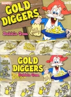 Gold Mine Nugget Gum  24 Bags