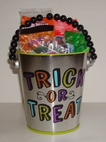 Halloween Candy Gift Pail