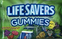Halloween Lifesavers Gummies Spooky Shapes