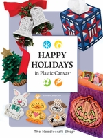 Happy Holidays In Plastic Canvas  Pattern Book