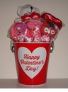 Happy Valentines Day - Valentine Candy Gift Basket