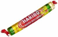 Haribo Roulette Gummy Candy Roll