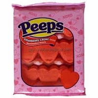 Strawberry Creme Heart Peeps