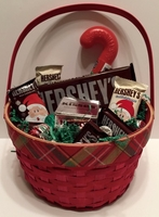 Hershey Christmas Candy  Basket