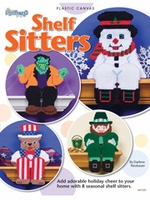 Holiday Shelf Sitters Plastic Canvas Pattern