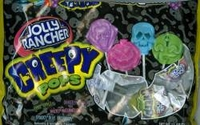Jolly Rancher Creepy  Pops   Halloween Suckers