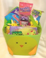 Kids Candy Filled Easter Basket Deluxe