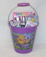 Kids Easter Bunny Basket Pail