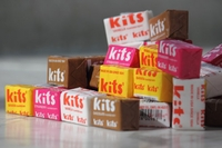 Kits Taffy Retro  Candy -  Assorted - 12 Count