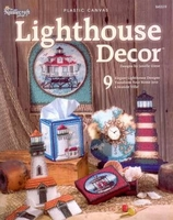 Lighthouse Decor In Plastic Canvas Pattern