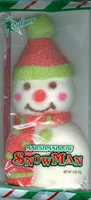 Marshmallow Snowman Christmas Candy