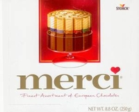Merci  Gourmet Chocolate