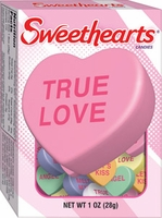 Necco Sweethearts Conversation Hearts 1 box