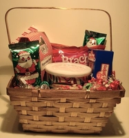 Old Time Christmas Candy Gift Basket
