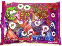 Oozing Marshmallow Eyeballs Candy