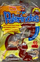 Palerindas Tamarind Flavored Mexican Suckers