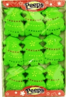 Peeps Marshmallow Christmas Tree's