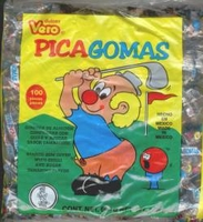 Pica Gomas  Tamarind  Mexican Gummy Candy 100 Pieces